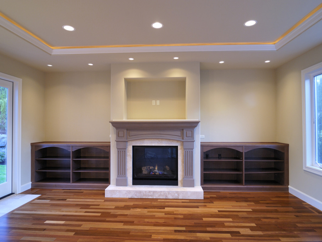 Recessed lighting fixtures, television mounts and more!